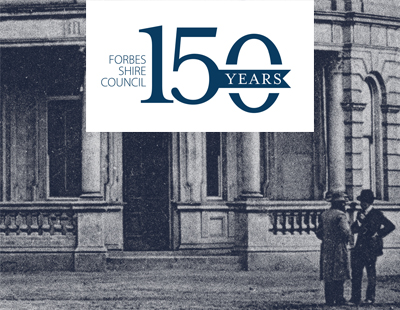 150 Years of Forbes Shire Council