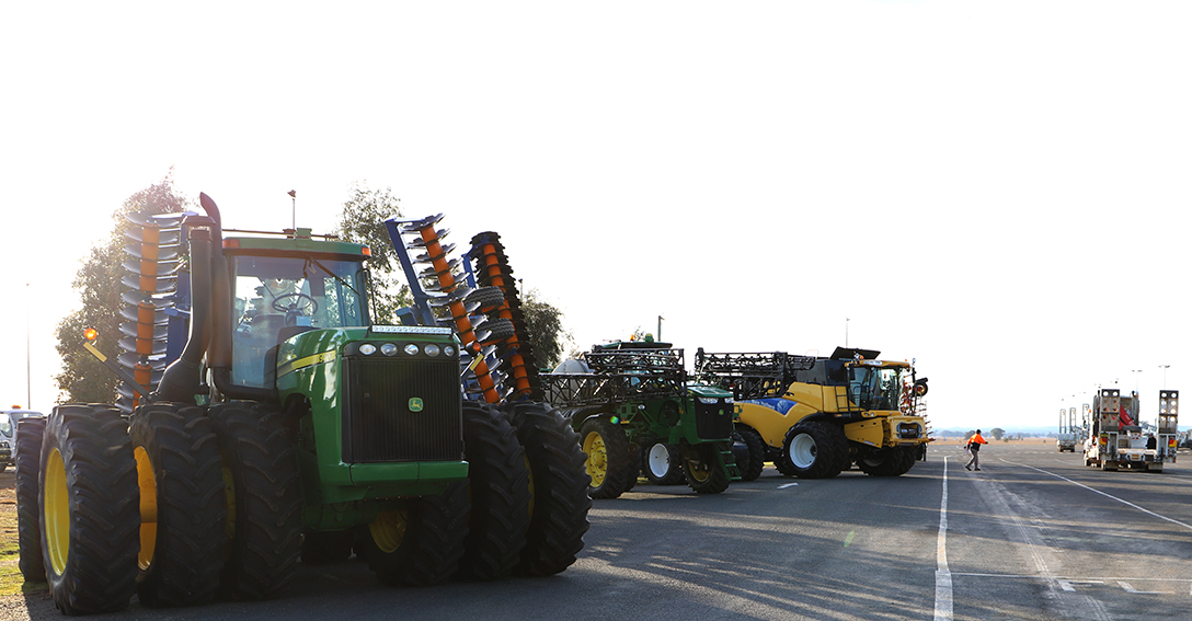Be Road Ready for Harvest Field Day
